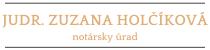 NOTÁRSKY ÚRAD v Myjave (MY) | JUDr. Zuzana Holčíková